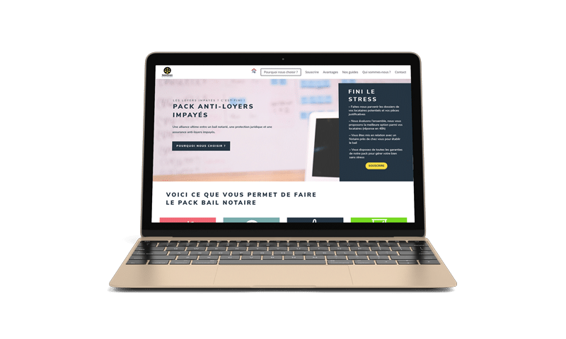 Immosecure – Pack Bail Notaire